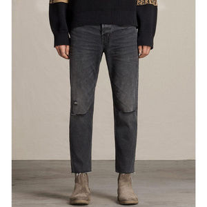 AllSaints || NEW Sid Straight Jeans in Baker Wash